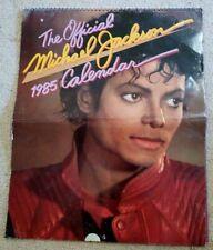 The Official Michael Jackson 1985 Original 13 Great Color Pix Calendar G