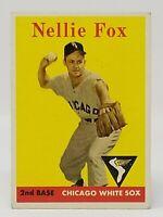 1958 Topps #400 Nellie Fox - EX