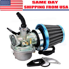 Carb 50cc 70cc 90cc 110cc 125cc Motorcycle ATV Dirt Bike Carburetor W/Air Filter