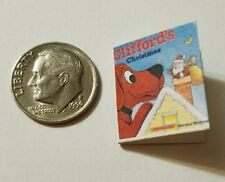 Miniature Book Disney Movie Barbie 1/12 Scale Clifford  Dogs Puppies