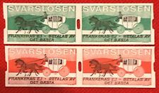 Zayix - 1993 Sweden Mnh Svarslosen Local Business Reply Stamp - Horse & Carriage