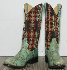 FM 1101 by Lane Boots Coquette Women's Western Cowgirl Boots Size 9