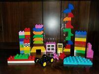 Lego Duplo Lot 50 Plus Pieces Window Door Flowers Full Gallon Bag Duplo Pieces