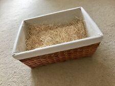 Birthday / Christmas Gift Basket Lined L 47cm x W 36cm x H 18cm