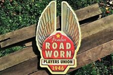 Fender Road Worn Players Union 1946 Embossed Tin Metal Sign - Guitars & Basses