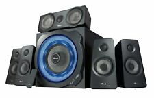 Trust GXT 658 Tytan 5.1 Gaming Surround Speaker System with Subwoofer, 180 W, UK