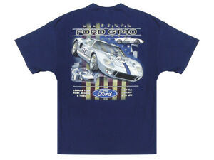 New T-shirt Ford GT40 World Beater Navy Blue - Sizes M-3XL