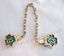 SWEATER GUARD Girl Scout Trefoil Nostalgic 1950 Piece Excellent Leader Collector