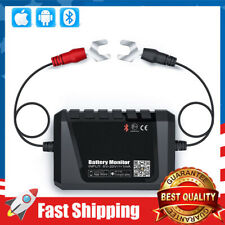 Battery Monitor Bluetooth Voltmeter W/ Automotive Charging Cranking System Test