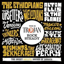 THIS IS TROJAN ROCK STEADY: SWEET SOULFUL SOUNDS OF JAMAICA  2 CD NEUF