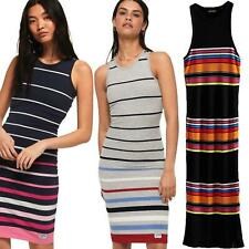 Superdry Stripe Midi Dress