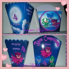 1 Portapatatine popcorn festa compleanno Winx PJ masks Miraculous Lol Zac Frozen