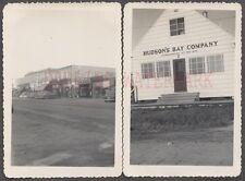 Vintage Photos Street Scene & Hudson's Bay Company Apex BC Canada 672352