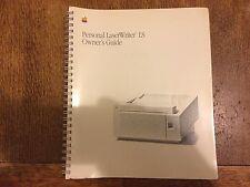 Apple LaserWriter ls documentación personal y discos de instalación-Coleccionable
