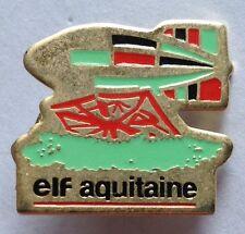 Elf Aquitaine Airship Airline Pin Badge Rare Advertising Vintage (D4)