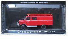 """DIE CAST """" LF 8 BORGWARD B 2500 A/O """" VIGILI DEL FUOCO FIRE TRUCK  SCALA 1/72"""