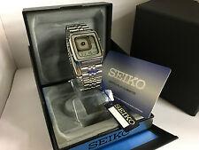 Seiko G757-405A James Bond Octopussy Alarm Chronograph Quartz LCD LED Watch M