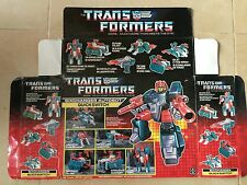 Transformers G1 1987 QUICKSWITCH (empty) BOX  hasbro takara MB european