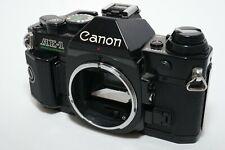 [EXC+++++]Canon AE-1 Program Black 35mm Film Camera From Japan