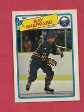 1988-89 OPC # 55 SABRES RAY SHEPPARD  ROOKIE CARD