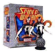 Bowen Designs BLACK SPIDER-WOMAN Julia Carpenter mini bust/statue~man~Venom~NIB