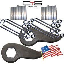 "Lift Kit Chevy Front Torsion Keys3/ 4"" Rear Blocks""C"" 2000-2010 Truck 8 Lug K02"