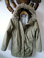 Fast Neu warme Columbia Sportswear Jacke Gr.S 38 olive Damen Outdoor Kurzmantel