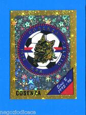 CALCIATORI PANINI 1995-96 Figurina-Sticker n. 399 - COSENZA SCUDETTO -New
