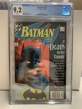 BATMAN 426 CGC 9.2 Newsstand Death In The Family