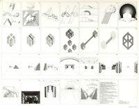 """SUPERSTUDIO - """"Viaggio nelle regioni della ragione"""", 1970 - Litografia 69 x 87"""