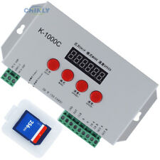 K-1000C Pixels 2048pcs RGB Controller DC5-24V Strip TM1804/LPD6803/DMX512/WS2812