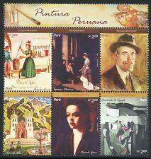 Peru 2005 Gemälde Paintings Art Kunst 2014-2019 Postfrisch MNH