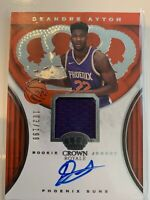2018-19 Panini Crown Royale DeAndre Ayton Rookie Jersey Relic Auto /199
