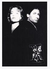 X-FILES carte postale éditée en 1996 David DUCHOVNY Gillian ANDERSON XFILES