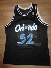 12ebc0b33 Shaquille O neal  32 Orlando Magic Black Champion NBA Jersey 48 Rookie