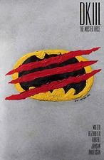 DARK KNIGHT III MASTER RACE #9 CHIP KIDD VARIANT BATMAN DC COMICS