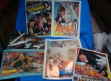 6 Vintage Bollywood Horror Movies Booklets From India 1980'S Rare .