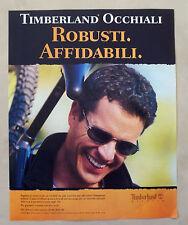 C153-Advertising Pubblicità-1998- TIMBERLAND OCCHIALI