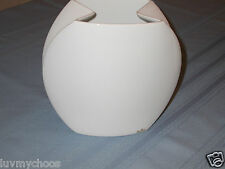ROSENTHAL PORCELAIN WHITE TAURUS VASE SIGNED BY JAN VAN DER VAART GERMANY