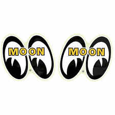 MOONYES EYES PAIR LEFT RIGHT STICKER VW BUGGY DECAL RAT HOT ROD DRAG DM051