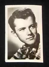 Lon McCallister 1940's 1950's Actor's Penny Arcade Photo Card Postcard