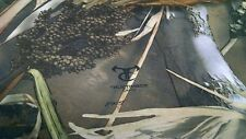 """Bridal Satin Camo Fabric Hunting Camo True Timber DRT Duck Blind 58"""" Wide By Yd"""