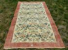 Traditional Floral Design Nomadic Carpet Anatolian Handmade Vintage Rug 4x7 ft