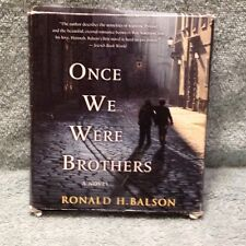 Once We Were Brothers by Ronald H. Balson Compact Disc Book (English)
