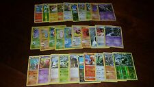 Pokemon Trading Card Game lot of 30 cards, some Holos, Great Price, Lot# 6