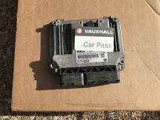 VAUXHALL OPEL VECTRA C 1.9 CDTI DIESEL ENGINE ECU 55205632 ES WITH PIN CODE
