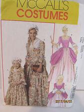 American Colonial Costume Sewing Pattern Kids Sz. 3-8