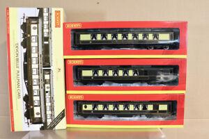 HORNBY R4380 DEVON BELLE PULLMAN CARS COACH PACK MINT BOXED nz