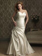 Allure Bridals style W284 White Size 20W Wedding Gown