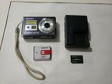 Sony Cyber-shot DSC-W80 7.2MP Digital Camera - Black